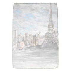 Eiffel Tower Paris Removable Flap Cover (Small)