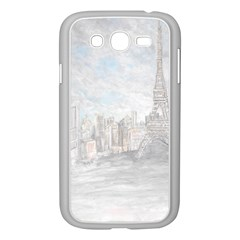 Eiffel Tower Paris Samsung Galaxy Grand Duos I9082 Case (white)
