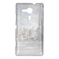 Eiffel Tower Paris Sony Xperia SP M35H Hardshell Case