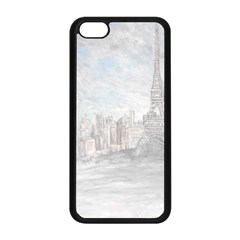 Eiffel Tower Paris Apple Iphone 5c Seamless Case (black)