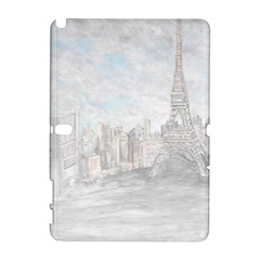 Eiffel Tower Paris Samsung Galaxy Note 10.1 (P600) Hardshell Case