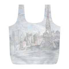 Eiffel Tower Paris Reusable Bag (L)