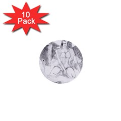 Bleeding Angel 1  1  Mini Button (10 pack)