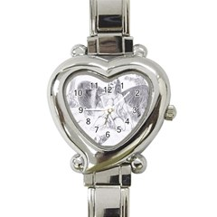Bleeding Angel 1  Heart Italian Charm Watch