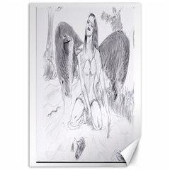 Bleeding Angel 1  Canvas 12  x 18  (Unframed)