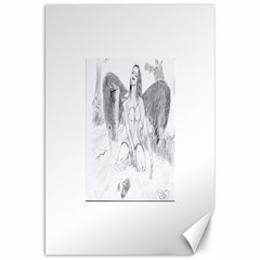 Bleeding Angel 1  Canvas 20  x 30  (Unframed)