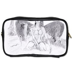 Bleeding Angel 1  Travel Toiletry Bag (one Side)