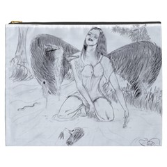Bleeding Angel 1  Cosmetic Bag (xxxl)