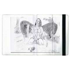 Bleeding Angel 1  Apple Ipad 3/4 Flip Case