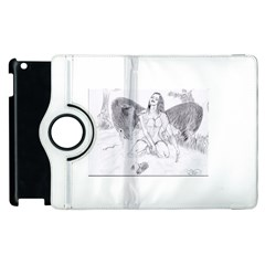 Bleeding Angel 1  Apple iPad 3/4 Flip 360 Case