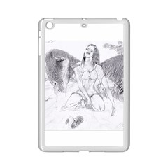 Bleeding Angel 1  Apple iPad Mini 2 Case (White)