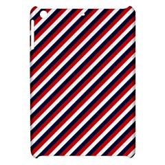 Diagonal Patriot Stripes Apple Ipad Mini Hardshell Case
