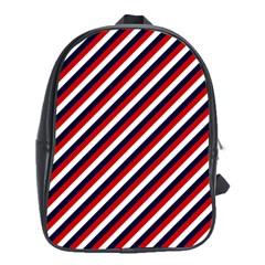 Diagonal Patriot Stripes School Bag (XL)