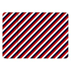Diagonal Patriot Stripes Samsung Galaxy Tab 8.9  P7300 Flip Case