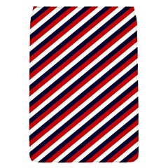 Diagonal Patriot Stripes Removable Flap Cover (Small)