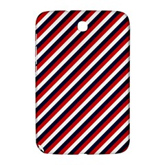 Diagonal Patriot Stripes Samsung Galaxy Note 8 0 N5100 Hardshell Case
