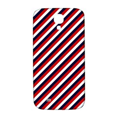 Diagonal Patriot Stripes Samsung Galaxy S4 I9500/i9505  Hardshell Back Case