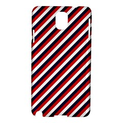 Diagonal Patriot Stripes Samsung Galaxy Note 3 N9005 Hardshell Case