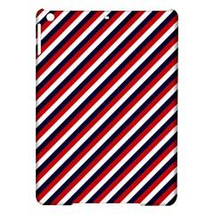 Diagonal Patriot Stripes Apple iPad Air Hardshell Case