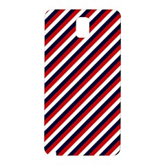 Diagonal Patriot Stripes Samsung Galaxy Note 3 N9005 Hardshell Back Case