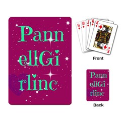 Pannellgirlinc Playing Cards Single Design