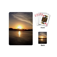Sunset Beach Playing Cards (mini)