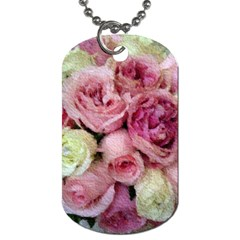 Tapestry Wedding Bouquet Dog Tag (One Side)
