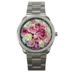 Tapestry Wedding Bouquet Sport Metal Watch