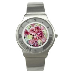 Tapestry Wedding Bouquet Stainless Steel Watch
