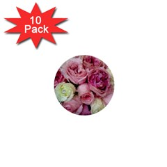 Tapestry Wedding Bouquet 1  Mini Button (10 pack)