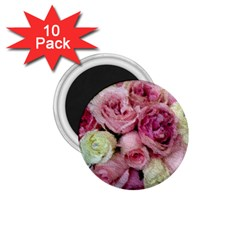 Tapestry Wedding Bouquet 1.75  Magnet (10 pack)