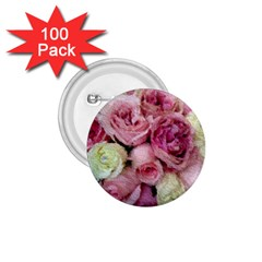 Tapestry Wedding Bouquet 1.75  Button (100 pack)