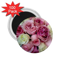 Tapestry Wedding Bouquet 2 25  Magnet (100 Pack)