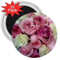 Tapestry Wedding Bouquet 3  Magnet (10 Pack)