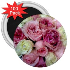 Tapestry Wedding Bouquet 3  Magnet (100 pack)