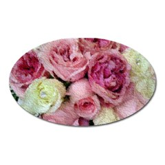 Tapestry Wedding Bouquet Magnet (Oval)