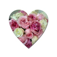 Tapestry Wedding Bouquet Magnet (Heart)