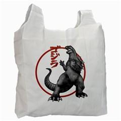 Gmk2 White Reusable Bag (One Side)