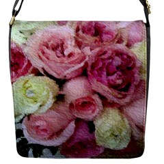 Tapestry Wedding Bouquet Flap closure messenger bag (Small)