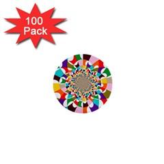 FOCUS 1  Mini Button (100 pack)