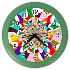 Focus Wall Clock (color)