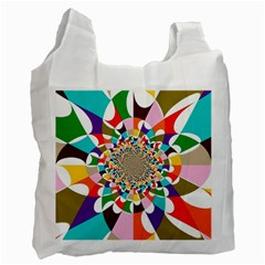 FOCUS White Reusable Bag (One Side)
