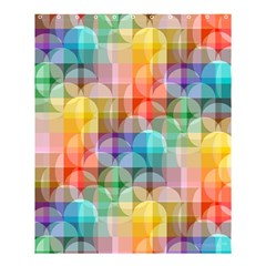 CIRCLES Shower Curtain 60  x 72  (Medium)