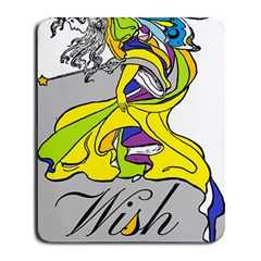 Faerie Wish Large Mouse Pad (Rectangle)