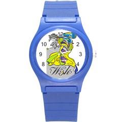 Faerie Wish Plastic Sport Watch (Small)