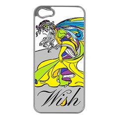Faerie Wish Apple iPhone 5 Case (Silver)