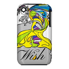 Faerie Wish Apple Iphone 3g/3gs Hardshell Case (pc+silicone)