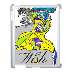 Faerie Wish Apple iPad 3/4 Case (White)