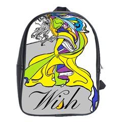Faerie Wish School Bag (xl)