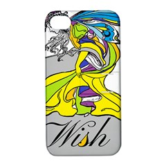 Faerie Wish Apple Iphone 4/4s Hardshell Case With Stand